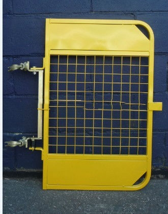Safety Metal Scaffold Ladder Access Gates Power Coating / Galvanized Ladder Door