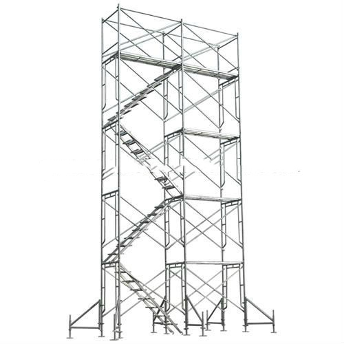 Metal Scaffolding Ladders : Multi purpose scaffolding steel step ladder durable