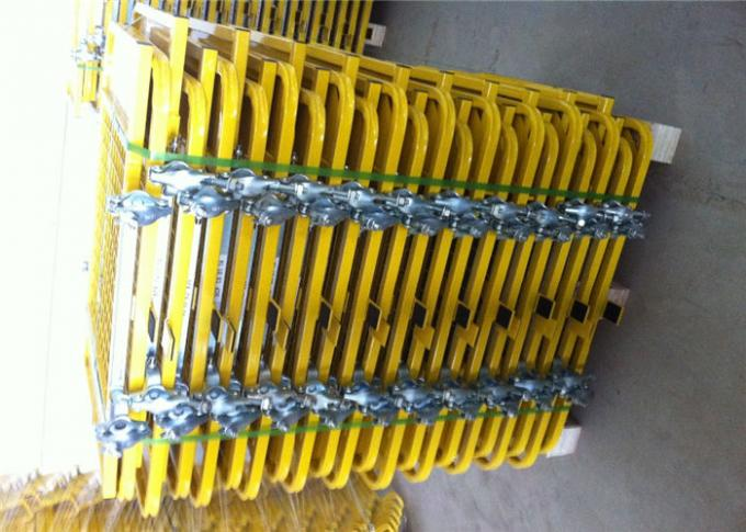 Steel Powder Coated Metal Scaffolding Parts Ladder Trap Door Hatch For Safety Access