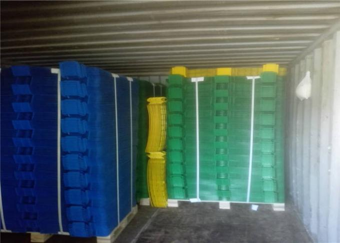 Safety Multi Color Plastic Scaffold Brick Guards For Protection Debris Falling