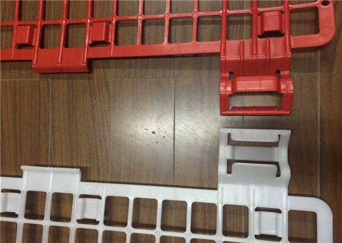 1.2 M Plastic Brick Guards For Scaffolding Safety , Plastic Scaffold Brick Guards