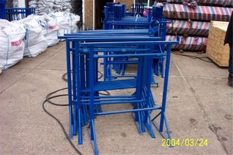 China Adjustable Steel Trestles For Builders , Heavy Duty Steel Trestles Multi Color supplier