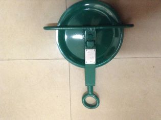 China Safety Scaffold Gin Wheel Pulley With Swivel Eye For Scaffolding Builders supplier