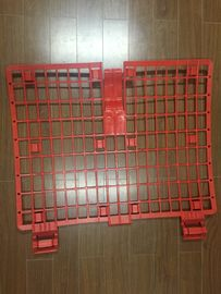 China Safety Red Plastic Scaffold Brick Guards Scaffolding Frame Manufacturers supplier