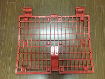 China Safety Red Plastic Brick Guard Protectors Panel For Scaffolding System supplier