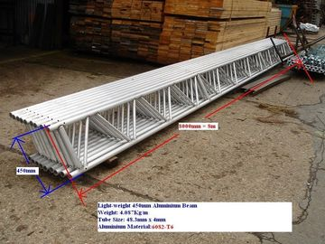 China H Beam Scaffold Ladder Beams Aluminum Formworks Strong Loading Capacity supplier