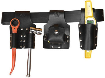 "China Heavy Duty 44"" Scaffolding Tools and Belts Leather Belt / Holders / Frogs supplier"