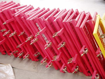 Multi Color Power Coating Scaffold Ladder Access Gates , Industrial Ladder Safety Gates