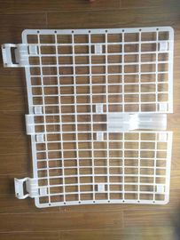 White Scaffold Plastic Brick Guard For Construction Protection Easily Installed