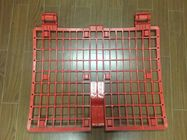 Safety Red Plastic Brick Guard Protectors Panel For Scaffolding System